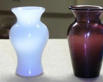 Miniatre Glass Vases