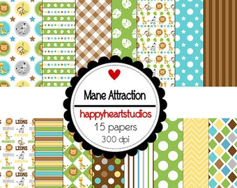 DigitalScrapbooking Instant Download-ManeAttraction