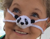 Panda Nose Warmer, Winter Cold Nose Cover, Unisex, Outdoor Fun, Sporting Event, Games