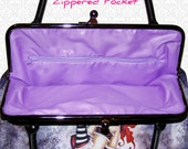 PURSE Add 1 (ONE) zippered pocket to your PURSE