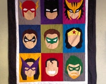 Sew These Heroes! - DIY - Quilt Blocks - PDF