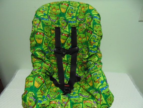 ninja turtles toddler car seat cover. Black Bedroom Furniture Sets. Home Design Ideas