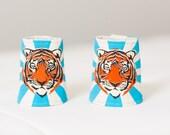 Tiger Cuffs, Super Hero Cuffs, Tiger Costume