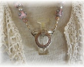 Perfume Bottle Necklace #3 Perfectly Paris Pink
