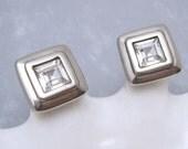 Swarovski Earrings Vintage Crystal Jewelry E6221