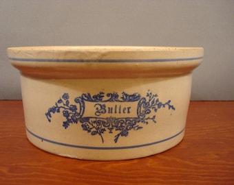 Sale....... Very nice large vintage butter crock