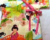 Baby Kimono - Original LivvySue Kimono Top - Aoi Has Two Sisters by Alexander Henry  - Sizes 0-6 mth to 2T