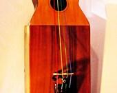 Guitar Bass musical sculpture