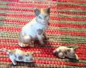 Vintage Japan  miniature cats
