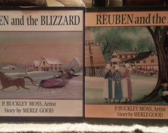 set of 2 childrens Amish books