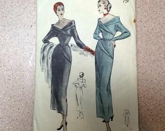 1940s Butterick Sewing Pattern - 4778 - Evening Dress 14 - Bust 32