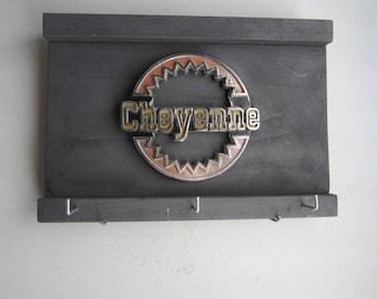 Chevy Cheyenne -  Vintage truck emblem - sign & key hanger