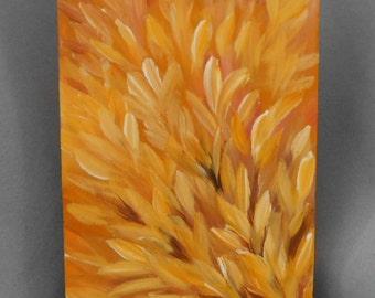 Crocus Burst Original Painting