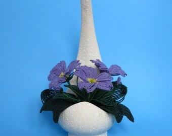 Primula - French Beaded Flowers - Primrose