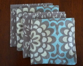 Double-sided cocktail napkins