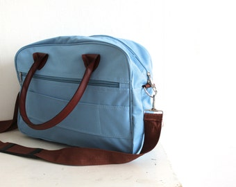 vintage canvas messenger bag.