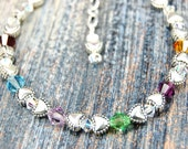 Mother's Blessings - Birthstone Bracelet - Style 2