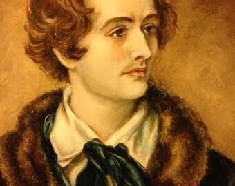 Poet John Keats Giclee Print Portrait