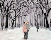 Central Park love