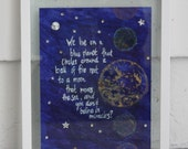 Moon that Moves the Sea print