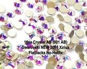Crystal AB (001 AB) Swarovski NEW 2088 Xirius 16ss Flatbacks No-Hotfix Rhinestones 4mm ss16