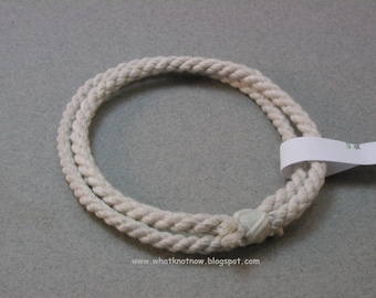 handmade rope two loop nautical cotton bracelet soft bangle bracelet nautical bracelet rope jewelry 3490