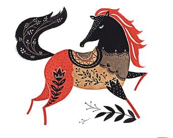 Horse Giclee Print