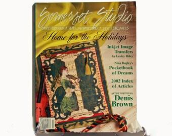 Somerset Studio magazine Nov/Dec 2002