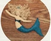 Large Mermaid Ornament
