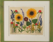 Sunflower Wedding, Artist Signed Fine Art Print