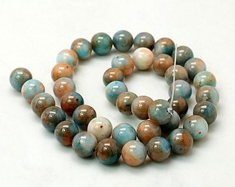 SALE - Dyed Jade Beads - 14mm - Sold per strand - #BST1164