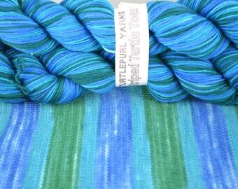Canonball - Hand-dyed Self-striping sock yarn
