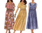 Womens Dress Sewing Pattern - McCalls 8249 Pattern -  Half Size Pattern - Uncut, Factory Folded