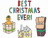 Christmas Cards - Best Christmas Ever!