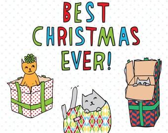 Christmas Cards - Best Christmas Ever!