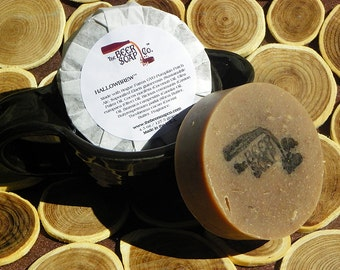Hallowbrew Beer Soap Made with Rogue Farms GYO Pumpkin Patch Ale