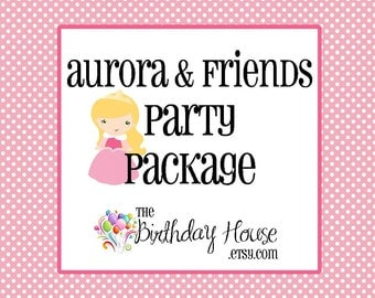 Aurora & Friends Party - Complete Party Package for the Ultimate Sleeping Beauty Party by The Birthday House