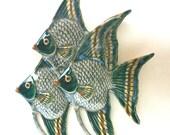 Angel Fish Trio Wall Hanging