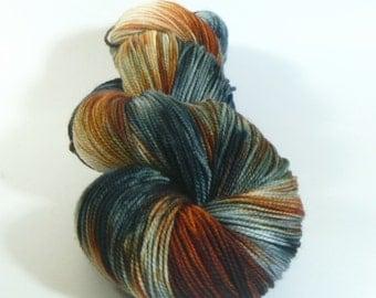 Yarn of Letters - Jest 2ply Merino/Nylon Sock - Eye of the Tiger