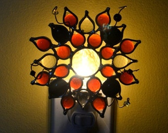 Pizzazz Stained Glass Nightlight