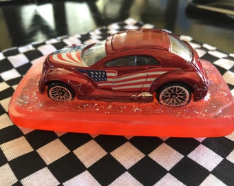 USA Car Soap & Washcloth Set