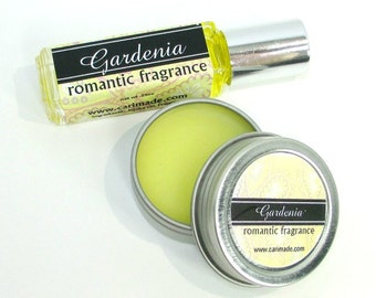SALE Gardenia Perfume, Romantic, Classic floral fragrance, Concentrated, Portable fragrance, great stocking stuffer