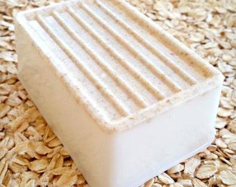 WATERLILY AND JASMINE Handmade Three Butter Soap Big Bar 6.5 oz Free Shipping