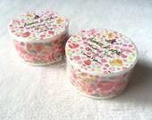 Aimez le Style Washi Masking Tape - Casual Flower