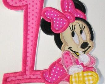 Iron On Applique - Baby Girl Birthday