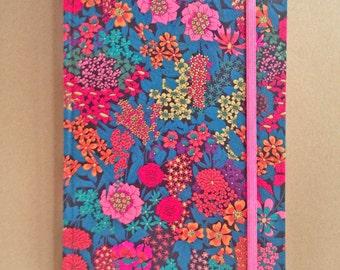 Liberty Covered Hardback Notebook Ciara C UNLINED