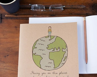 Better World Notebook - Eco-friendly and a great gift for adults or children.