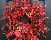 THANKSGIVING DECOR, Fall Wreaths, Autumn Decor, Front Door Wreaths, Holiday Decor, Harvest Wreath, Holiday Home