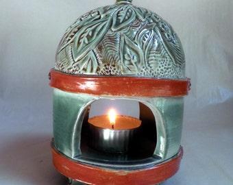 handmade PORCELAIN Luminaire, OOAK original design