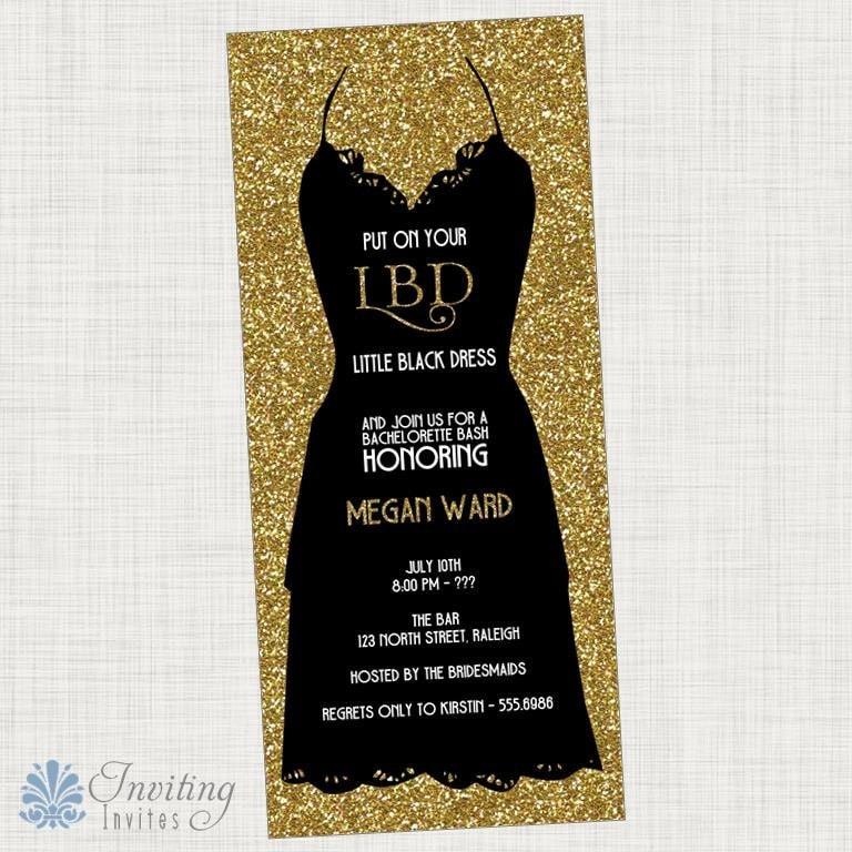 Little Black Dress Invitation Quotes